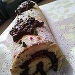 recette Gâteau roulé à la mousse au chocolat