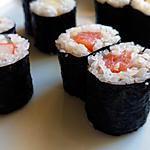 recette Maki (Maki sushi) – Maki fin (Hoso-maki)