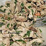 recette Rôti de veau en salade