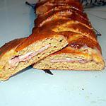 recette Tresse jambon,bacon et fromage (régime dukan)