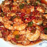 recette Jambalaya aux crevettes (régime dukan)