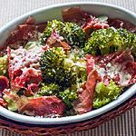 recette Gratin de brocolis à l'italienne