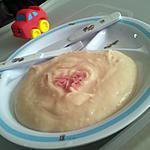 recette Purée de pomme de terre ratte au jambon qui rit *Pour bébé*