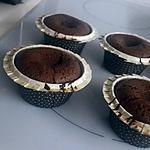 recette Mi-cuit au chocolat