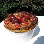 recette Clafoutis aux cerises et thé matcha