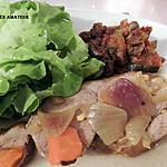 recette Épaule d'agneau aux épices douces
