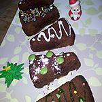 recette Gâteau individuels *sapin de noel*