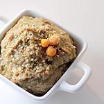 recette Houmous aubergine grillé au thym
