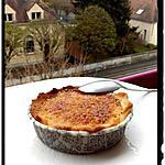 recette tartelettes aux pomme à la crème brulée vanille