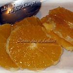 recette Salade d'oranges vanillée parfumée à la fleur d'oranger
