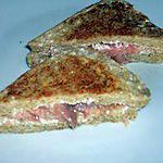 recette Croque perdu au saumon
