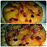 recette Gâteau aux poires et raisins secs