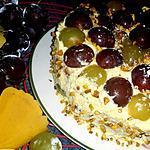 recette Victoria Sponge Cake aux raisins et pistaches