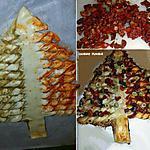 recette Sapin apéro en pâte feuilletée
