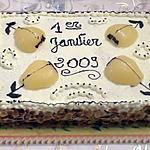 recette GATEU NOUVEL AN 2009