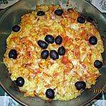 recette fricassée de morue en robe de p.de terre et oignons