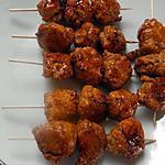 recette Brochettes de poulet