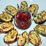 recette Frittata aux poivrons