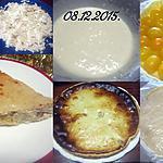 recette Tarte à la brousse de vache et abricots.