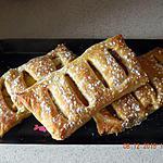 recette Jalousies aux pommes