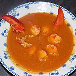 recette Bisque de homard