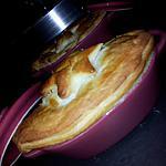 recette Mini cocottes feuilletées de la mer