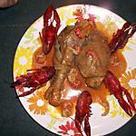 recette poulet aux ecrevisses
