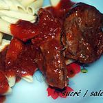 recette Sauté de porc à la tomate