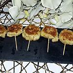recette Sucettes de Babybel pané