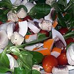 recette Salade familiale