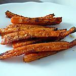 recette Frites de carOttes