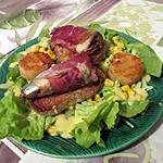 recette Salade complete aux  sardines (idéal diabetiques) - clien d'oeil a notre amour de cuisine