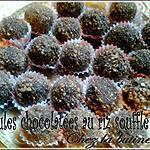 recette Boules chocolatées sans cuisson Choco/orange
