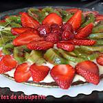 recette tarte aux fruits (pour les 14 ans de mon fils Anthony)