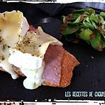 recette tartine au camembert