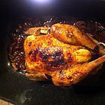 recette Poulet rôti a la cocotte