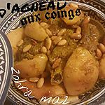 recette Tagine d'agneau aux coings caramélisés