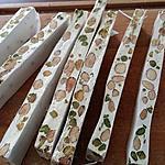 recette Nougat Blanc, Amandes Pistaches au Thermomix
