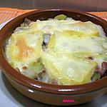 recette endives & poireaux en tartiflette
