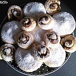 recette Beignet au four nature et escargot praliné