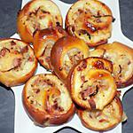 recette Rolls lardons/oignons dukan