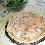 recette Tarte endives saumon