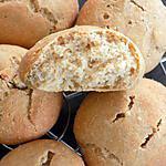 recette Petits pains aux carrés frais