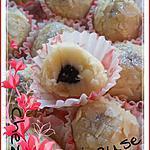 recette Truffes bicolores au massepain