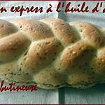 recette Pain express à l'huile d'argan