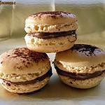 recette Macarons ganache au praliné
