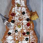 recette Gateau au yaourt sapin de Noel