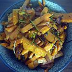 recette Pommes de terres frites à la coriandre