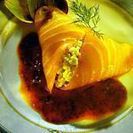 recette Parfait d'artichaut au saumon fumé