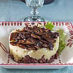recette Parmentier de canard et de cèpes